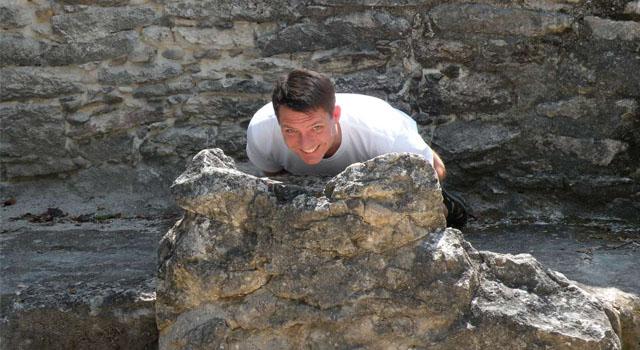 Coba: Boring Mayan Ruins and Cool Iguanas
