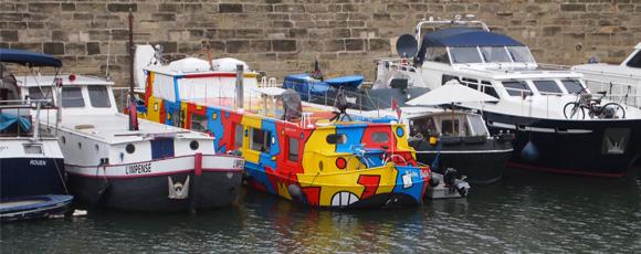 Barging Through France