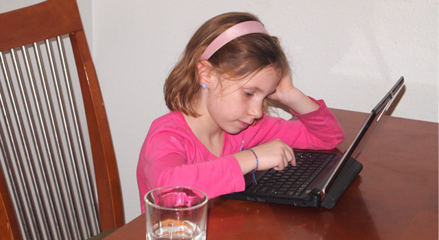 Our First Grader is a Blogger