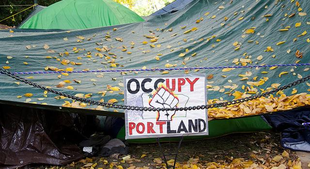 A Trip to the Occupy Portland Camp