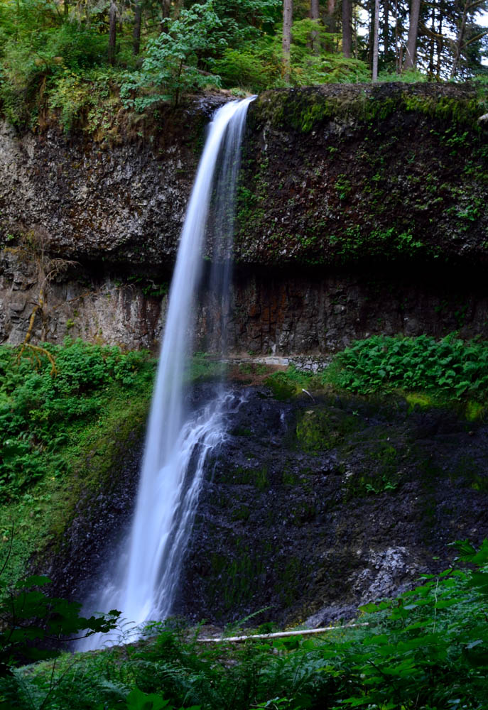 Middle North Falls at Silver Falls State Park