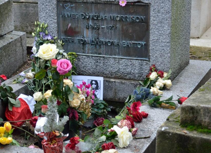 Photos of Paris' Pere Lachaise Cemetery