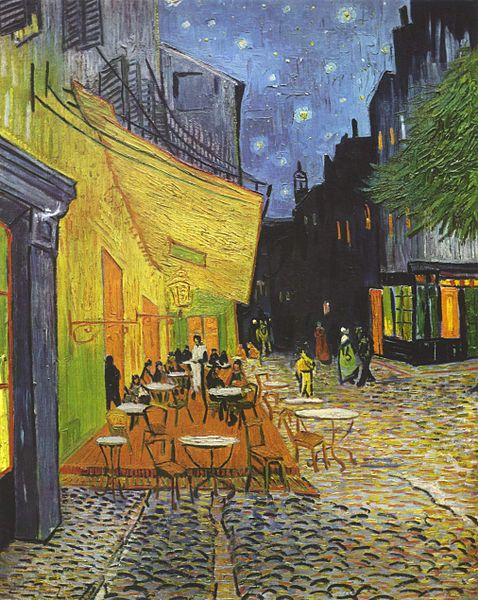 Cafe Terrance at Night