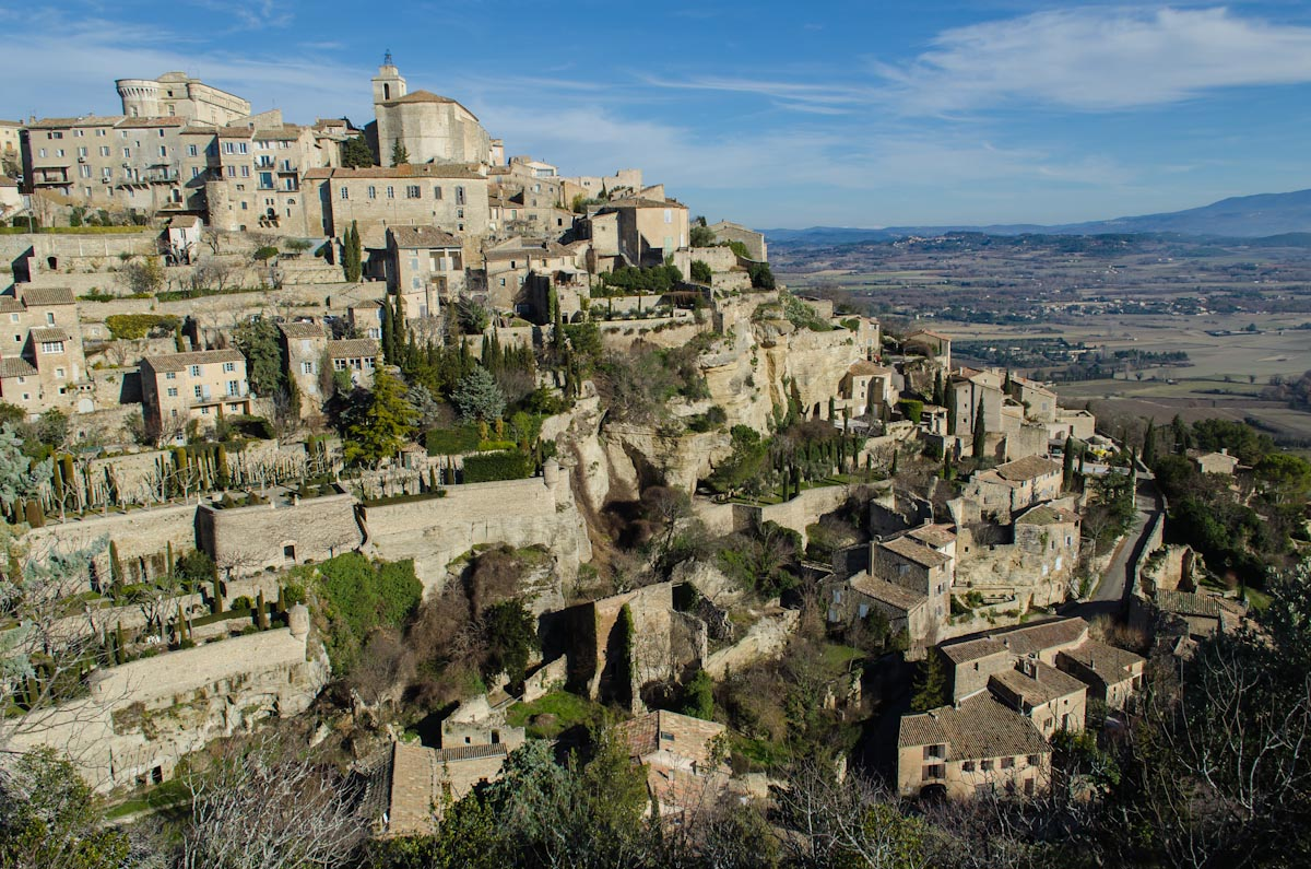 Hill town of Gordes