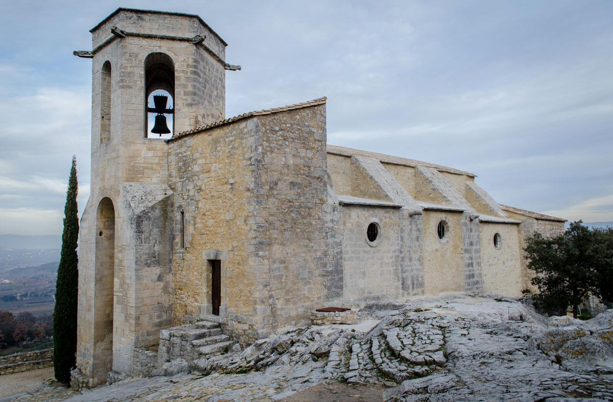 Church in Oppède le Vieux