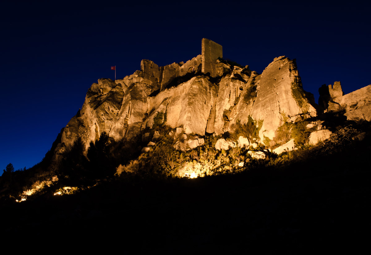 Les Baux at Night