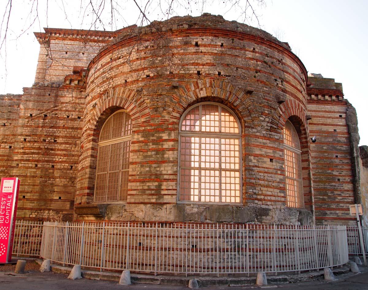 Roman Bath in Arles