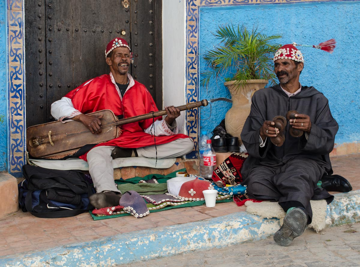 Moroccan Street Performers