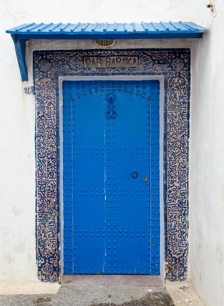 Door in the Kasbah