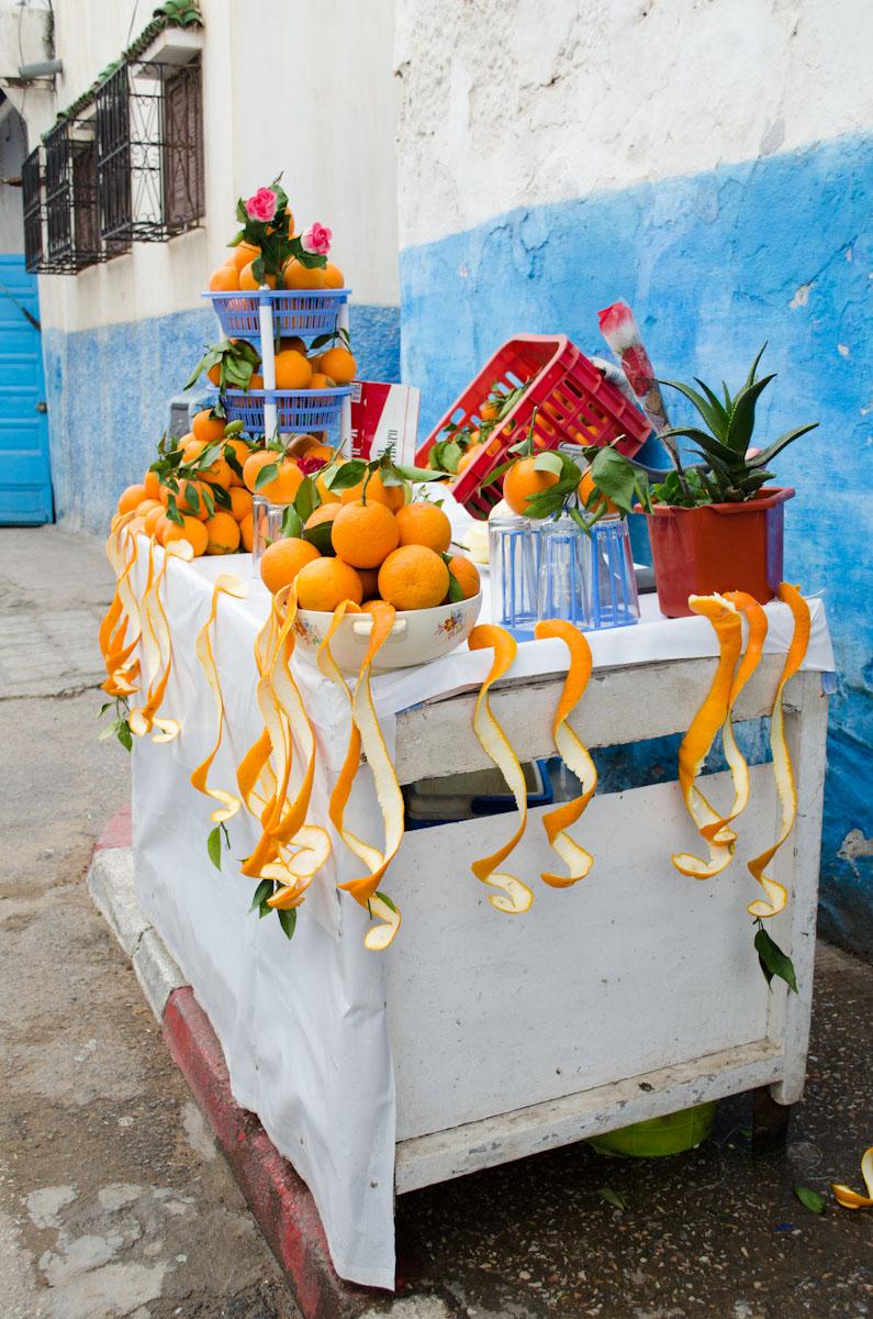 Orange Juice Stand in the Kasbah