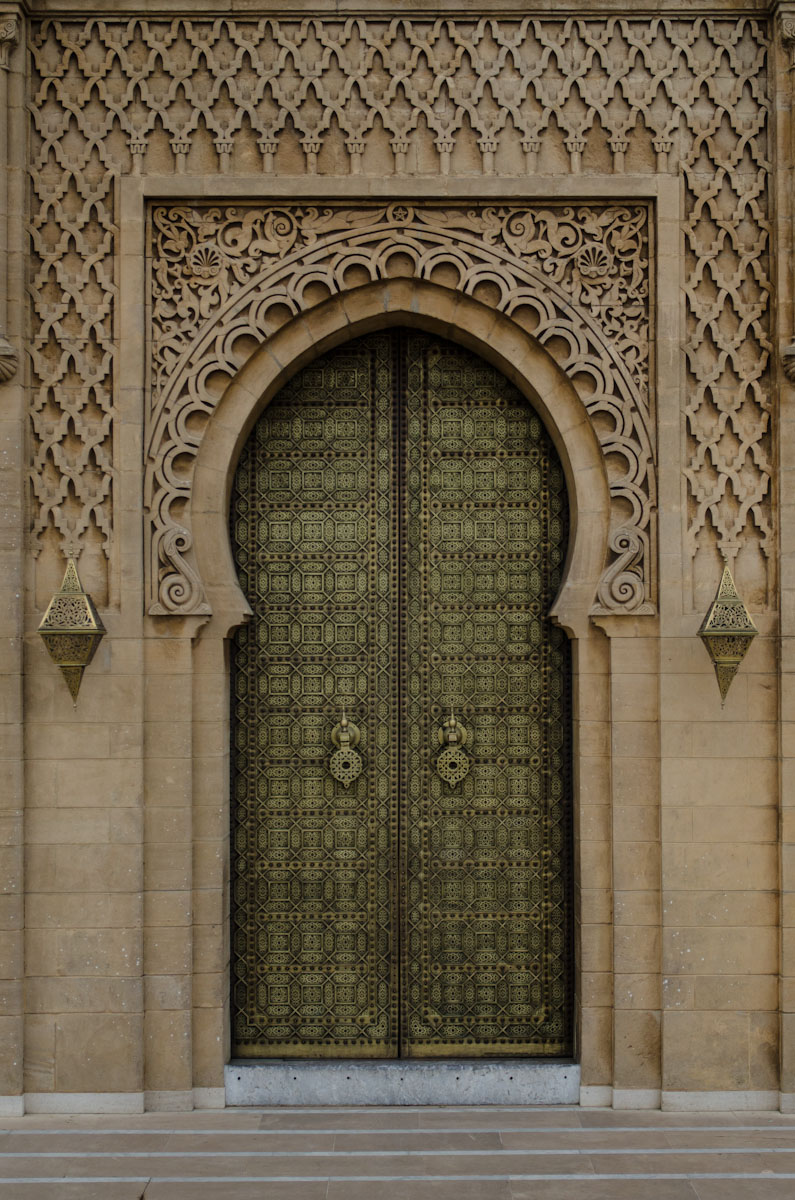 Door of Mausoleum of Muhammad the V