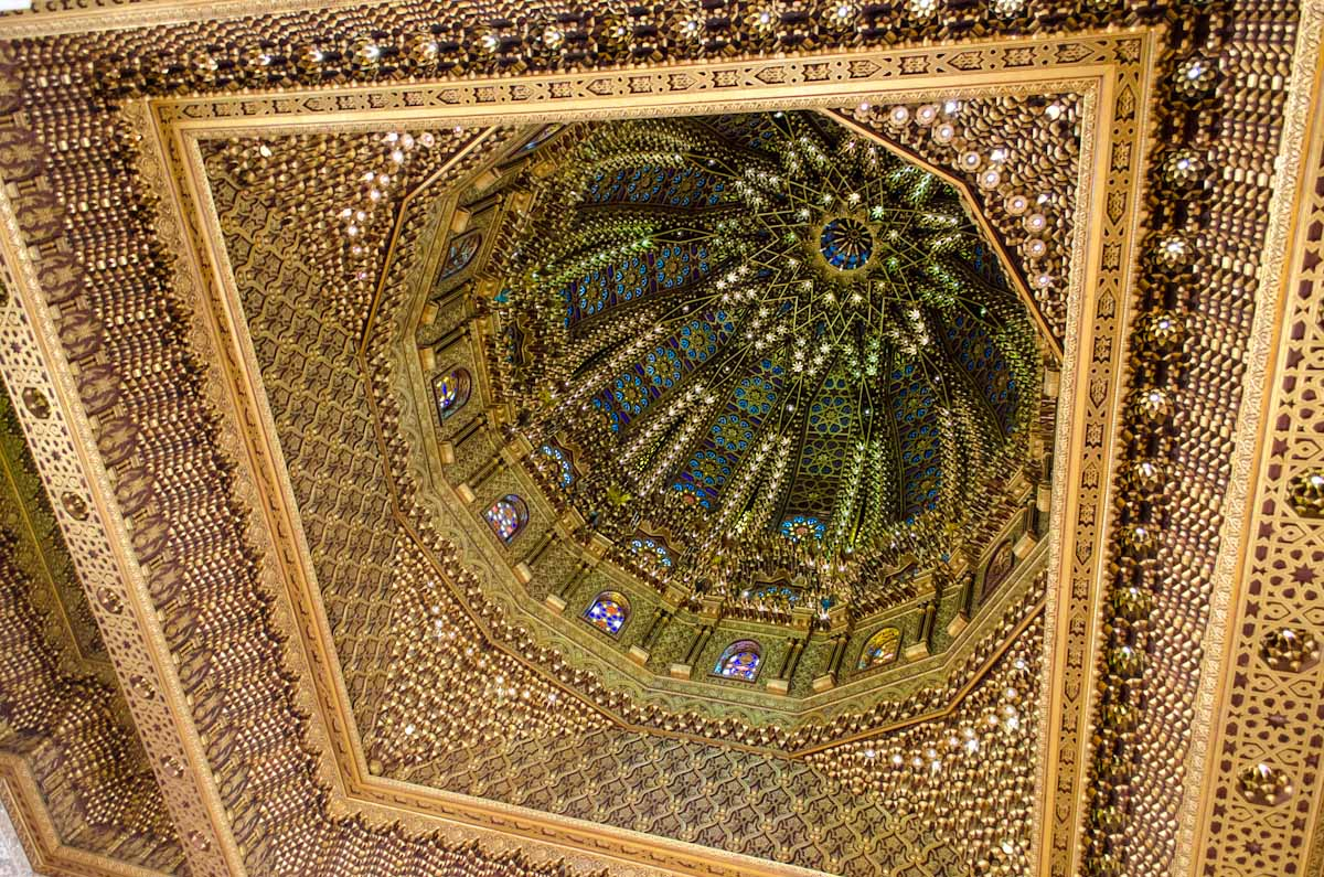 Ceiling of Mausoleum of Muhammad the V