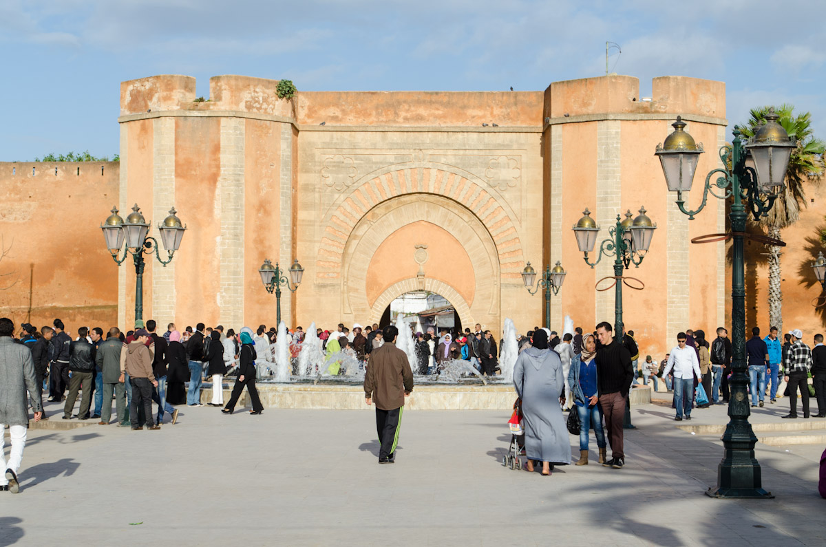 Entrance to the Medina