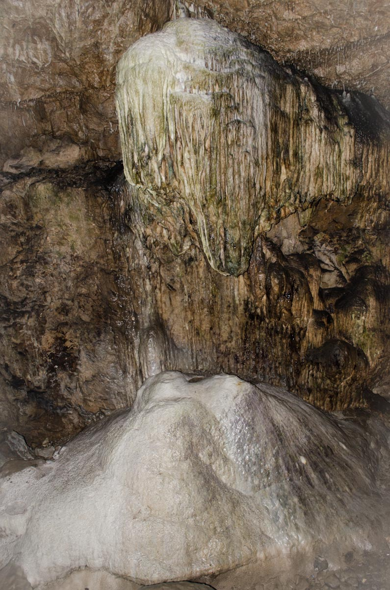 Stalagmite and Stalactite Formations of Dunmore Cave