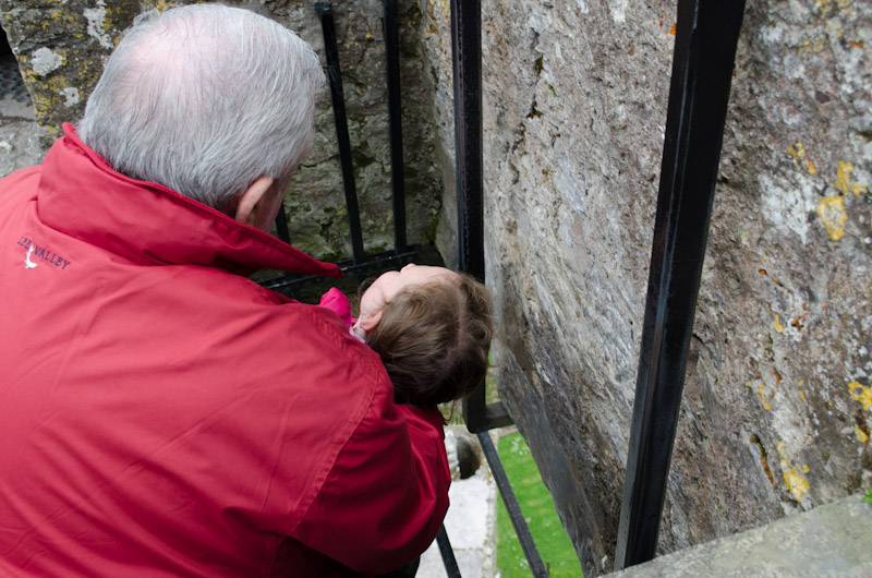 Kissing the Blarney Stone-5