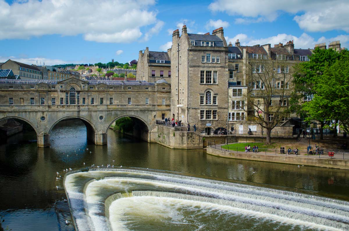 Bath Along the Avon River