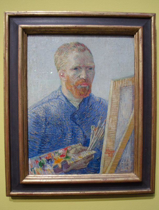 Self Portrait Vincent Van Gogh