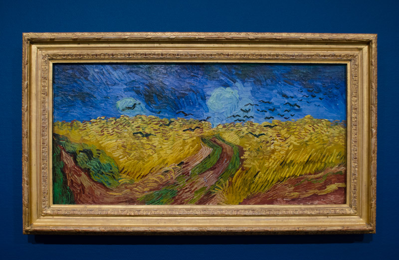 Wheat Fields With Crows