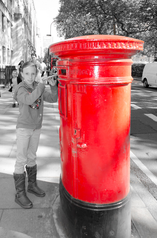 London in Red-10