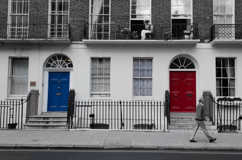 London in Red-3