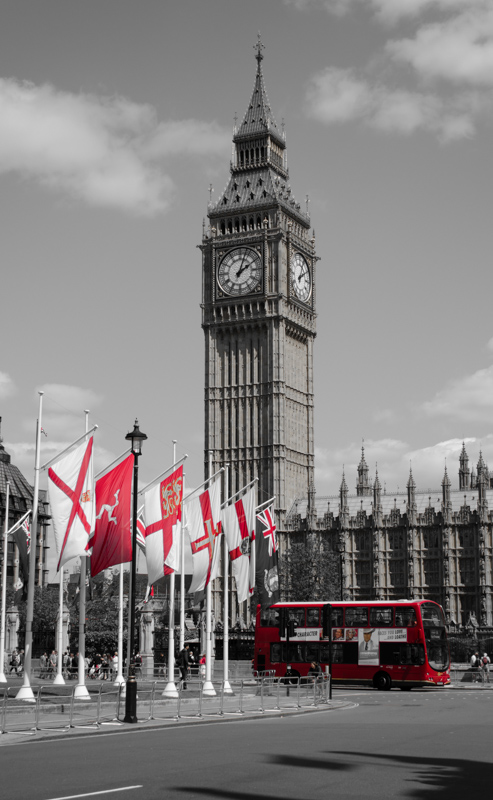 London in Red-6