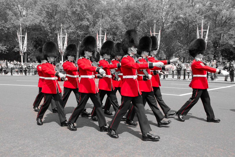 London in Red-7