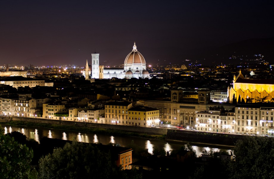Photo of the Week: Florence at Night