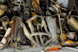 Auschwitz Prosthetic Limbs