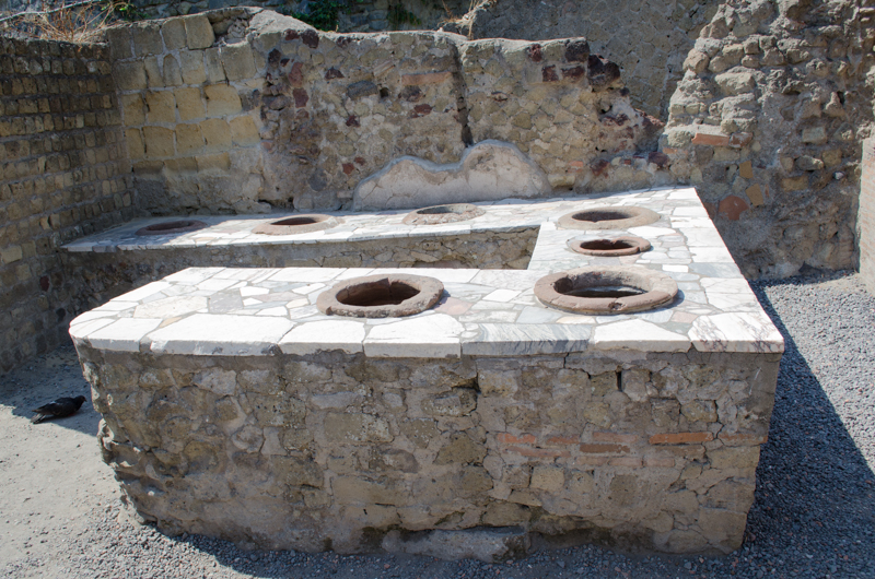 """Fast Food Restaurant"" in Pompeii"