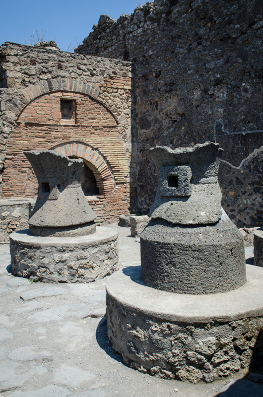 Bakery with Grinding Stones Pompeii