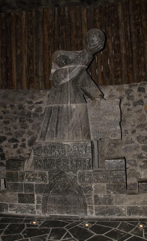 Copernicus Salt Statue