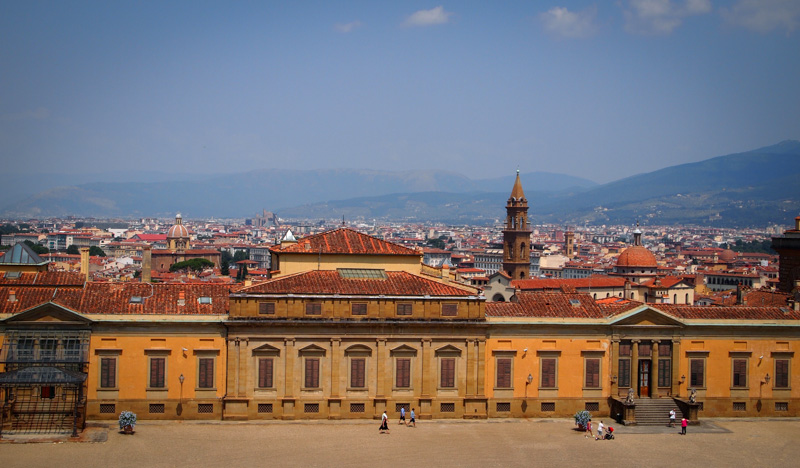 View of Florence From The Boboli Garden