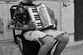 Young Street Performer