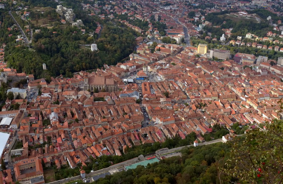 Photo of the Week: Brasov from Above
