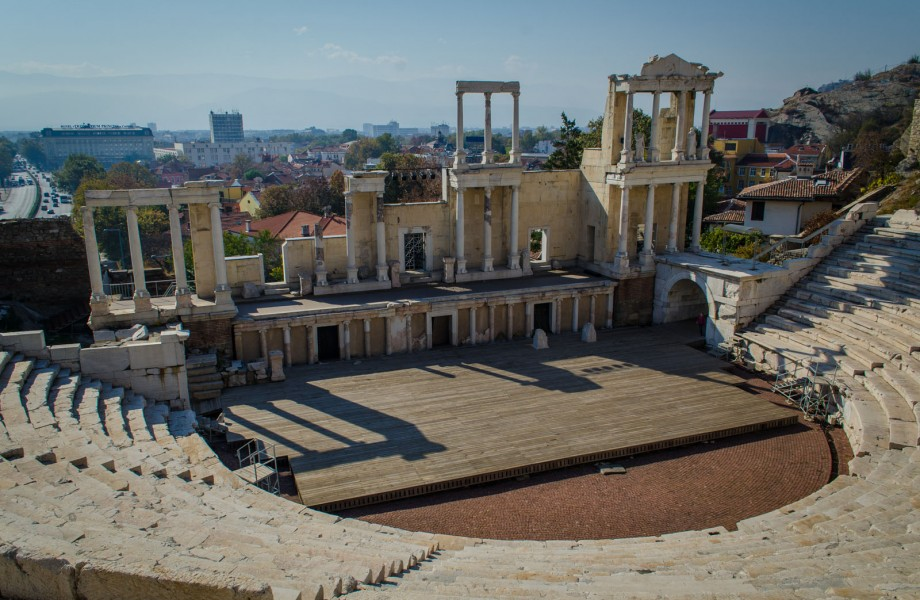 Photo of the Week: Roman Amphitheatre in Plovdiv, Bulgaria
