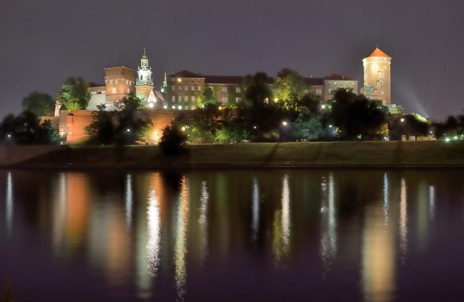 Photo of the Week: Krakow's Wawel Castle at Night