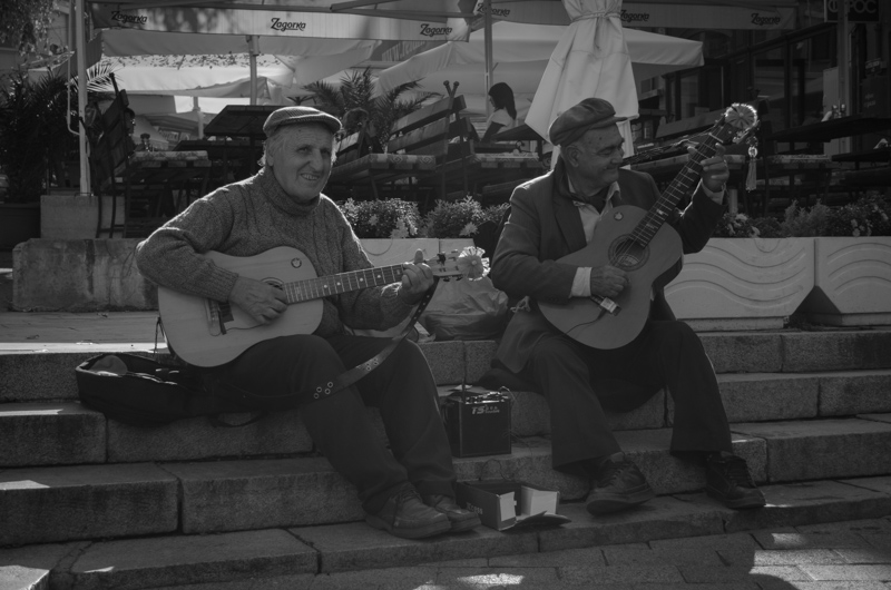 Street Performers in Plovdiv