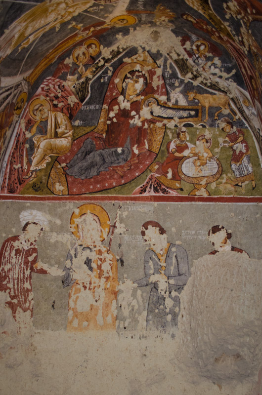 Frescos in One of the Churches