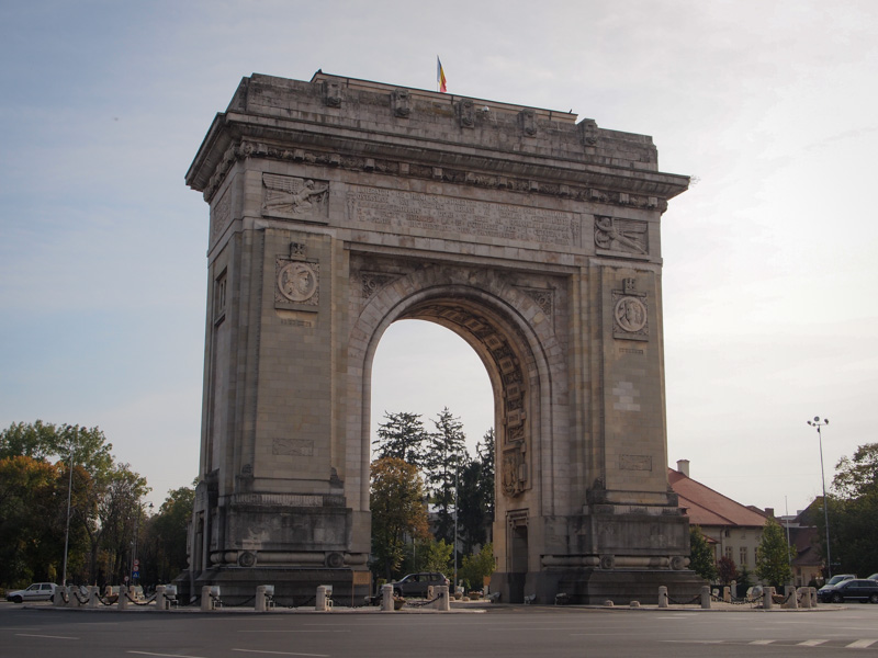 Acrul De Triumf Bucharest