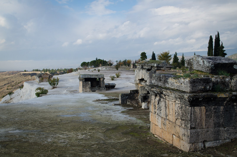 Encased tombs of Hierapolis
