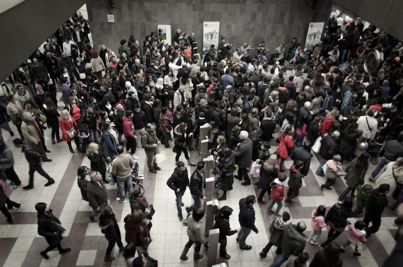 Symphony in the Athens Metro