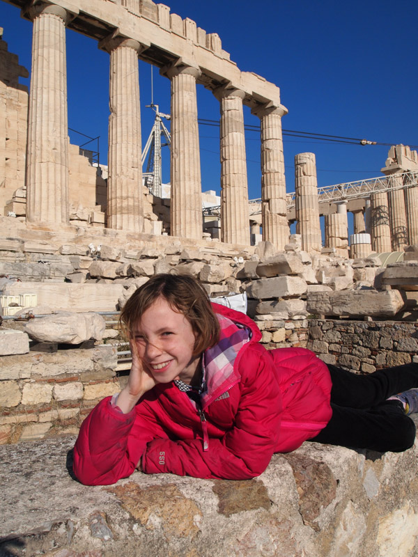 Sydney and the Parthenon