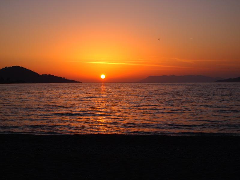 Sunset Calis Beach