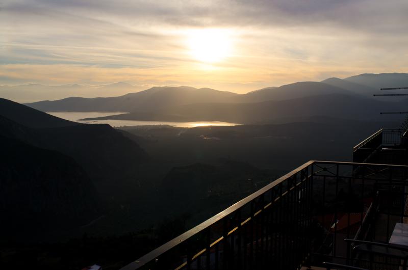 Sunset from Delphi