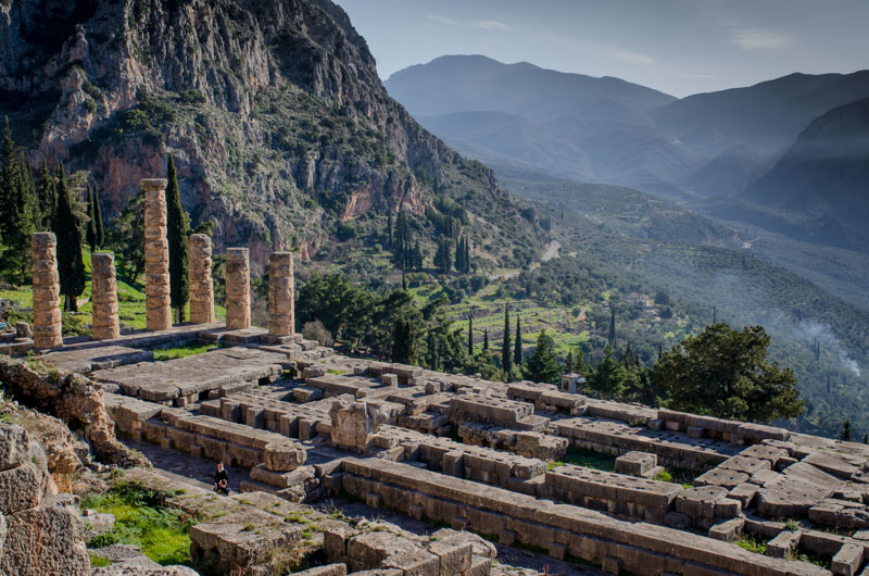 Photo Essay: Delphi Greece