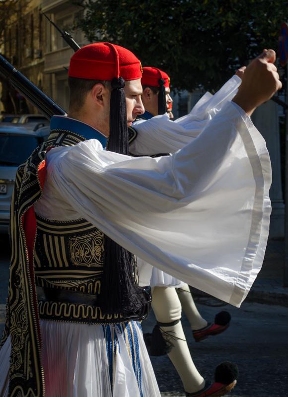 Greek Soldier Athens Greece