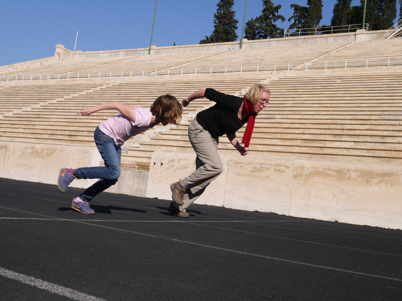 Panathenaic Stadium - Ready, set, go!