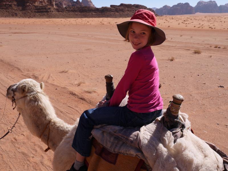 Sydney riding camels