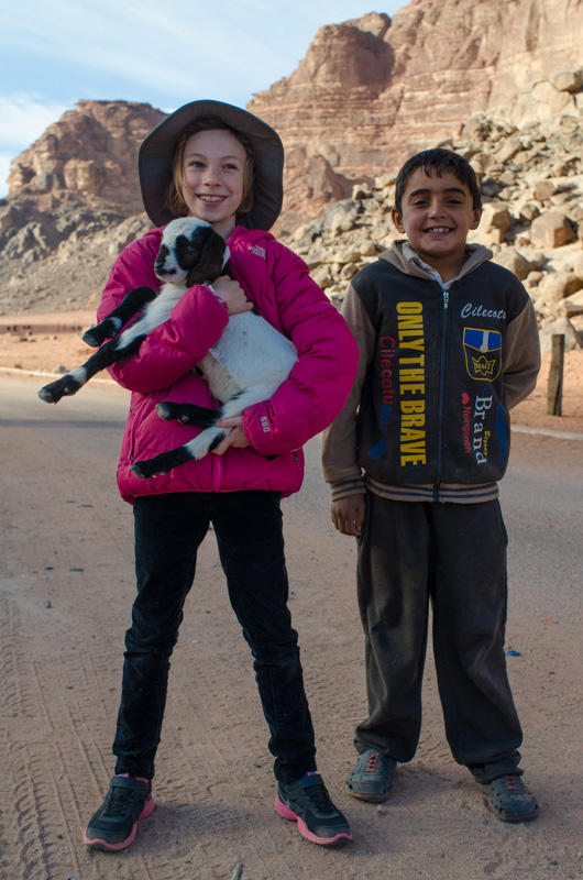 Sydney, Abduhl and the baby goat