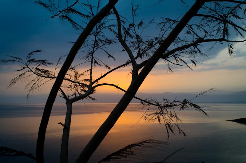 Sunset Dead Sea